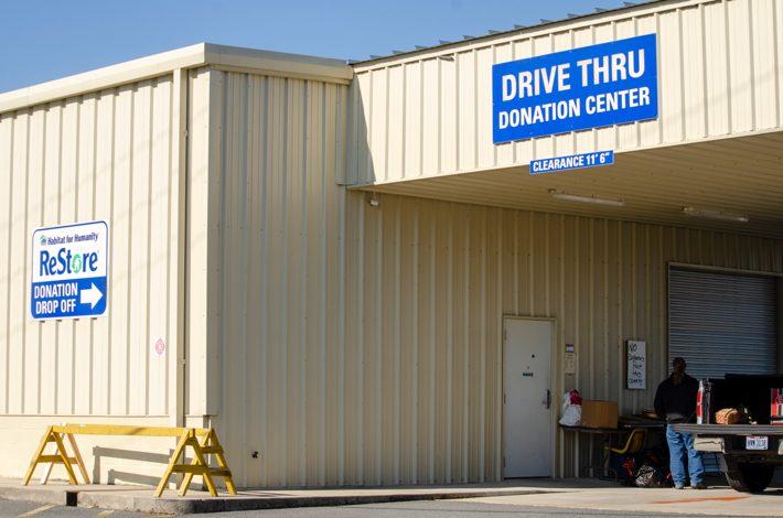 ReStore Drive Thru Donation