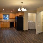 Interior of Habitat Chipola Home Build