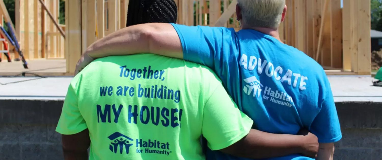 Habitat Teamwork Hug